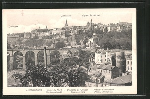AK-Luxembourg-Casernes-Cathedrale-Eglise-St-Michel