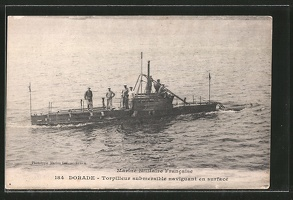 AK-Dorade-Torpilleur-submersible-Franzoes-U-Boot
